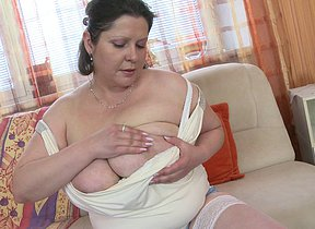 Huge breasted housewife fucking like crazy