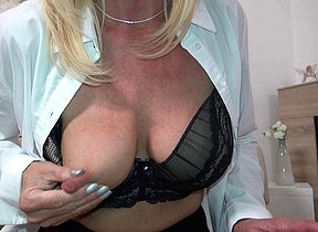 Hot German housewife playing with herself