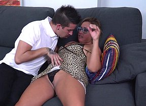Wild bodacious a hreftaghousewifehousewifea deepthroating and plumbing her toy boy